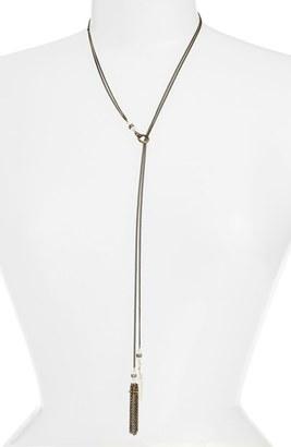 Women's Ettika Beaded Tassel Y-Necklace $48 thestylecure.com
