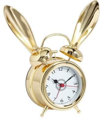 Pottery Barn Teen The Emily &amp Meritt Bunny Alarm Clock, Gold