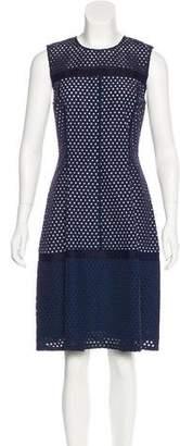 Lela Rose A-Line Sleeveless Dress