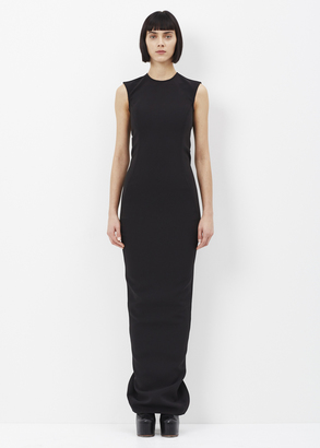 Rick Owens black dovima long dress $1,337 thestylecure.com