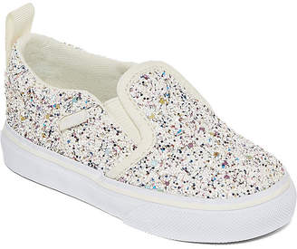Vans Asher Girls Skate Shoes - Toddler