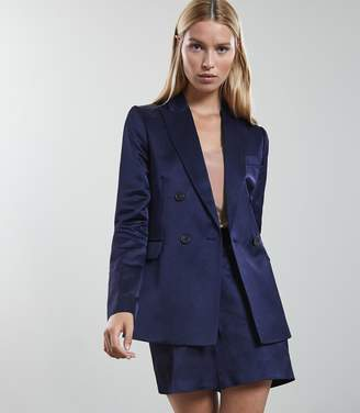 Reiss Solene Jacket Metallic Double-Breasted Jacket