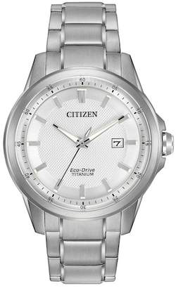 Citizen Men's Eco-Drive TI & IP Titanium Watch, 42mm