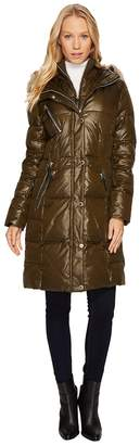 Andrew Marc Leigh 37 Lacquer Puffer Coat Women's Coat