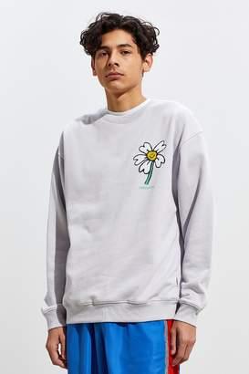 Insight Flower Face Crew-Neck Sweatshirt