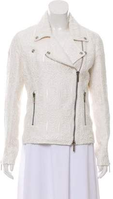 Thomas Wylde Lace Biker Jacket w/ Tags
