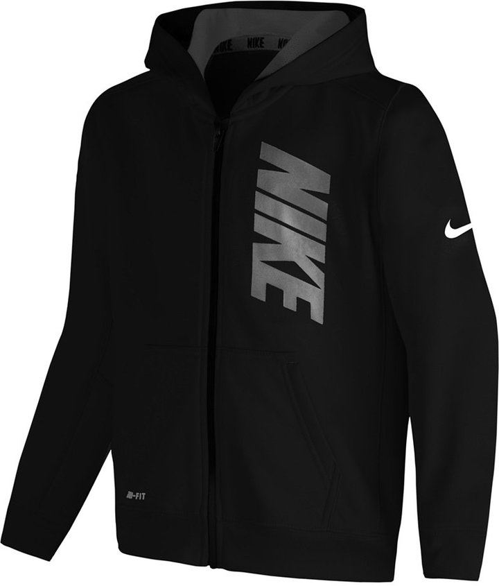 Nike Little Boys' Graphic-Print Zip-Up Hoodie