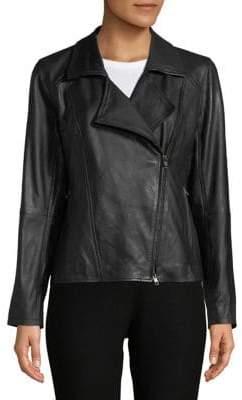 Eileen Fisher Moto Zip Jacket