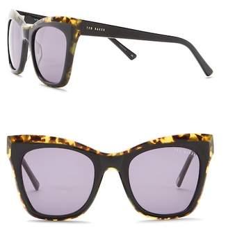Ted Baker Cat Eye 56mm Acetate Frame Sunglasses