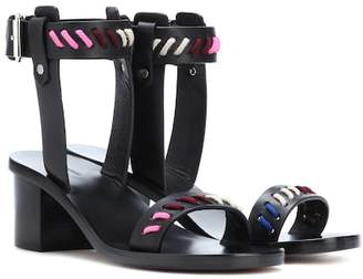 Isabel Marant Jecky leather sandals
