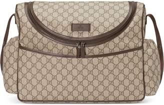 GG Supreme diaper bag $1,290 thestylecure.com