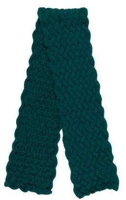 Burberry Wool Knit Scarf w/ Tags
