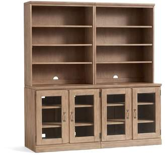 Pottery Barn Printer's Glass Cabinet Wall Suite