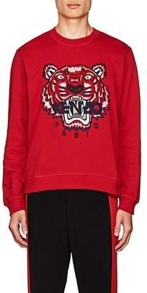 Kenzo Men's Appliquéd Cotton Fleece Sweatshirt