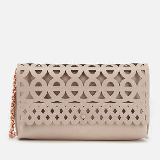 22c7cc44b99d5c ... at TheHut.com · Ted Baker Women s Sallia Cut Out Detail Clutch Bag new  ...