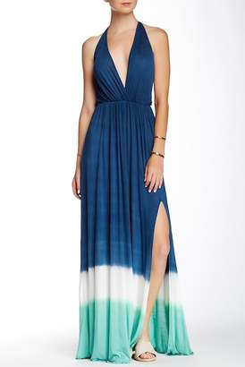 Couture Go Tie-Dye Empire Waist Maxi Dress