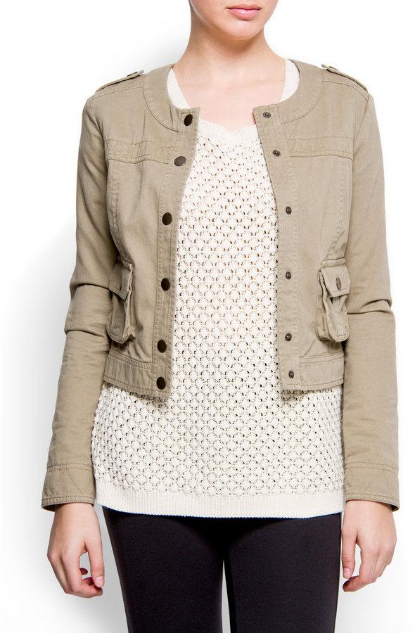 MANGO Pocket jacket