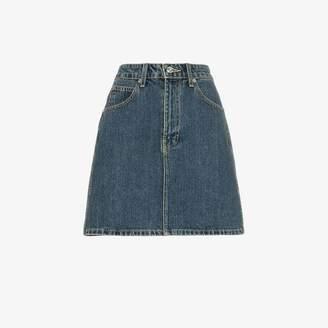 f6e9185e85 Eve Denim Tallulah high-waisted denim mini skirt