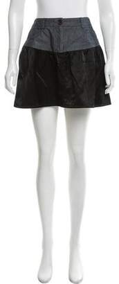 Joseph Satin Mini Skirt