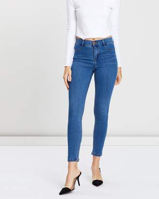 Dorothy Perkins Frankie Super Skinny Short Jeans