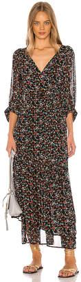 Apiece Apart Bouganvillea Wrap Dress