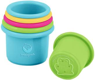 I Play Green Sprouts by Bio-based Stacking Cups