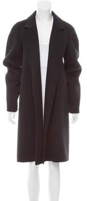 Michael Kors Wool Open-Front Coat
