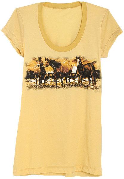 Horse Scene Tee