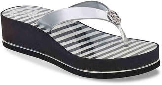GUESS Enzy Wedge Flip Flop - Women's