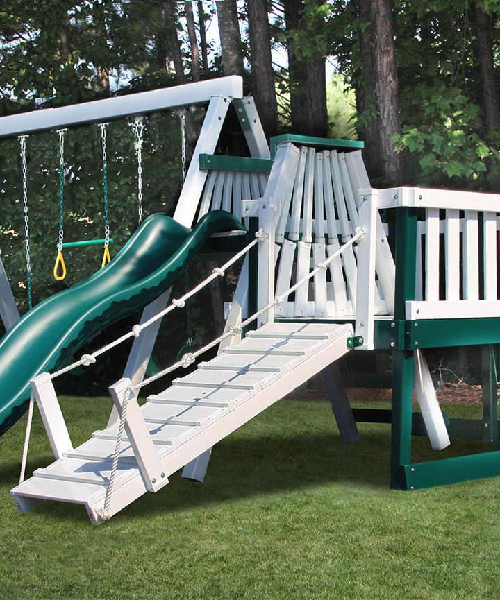 Three-Position Swing Play Set & Deck