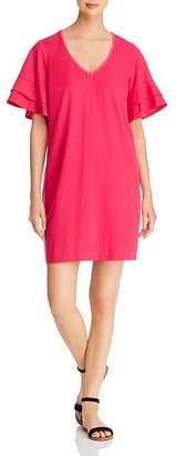 Tommy Bahama Lanailette Flutter-Sleeve Shift Dress