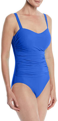 Gottex Profile by Tutti Frutti Ruched One-Piece Swimsuit (D Cup)