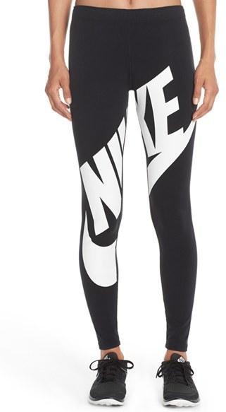 Women's Nike 'Leg-A-See' Exploded Logo Leggings