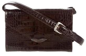 Ralph Lauren Crocodile Envelope Bag
