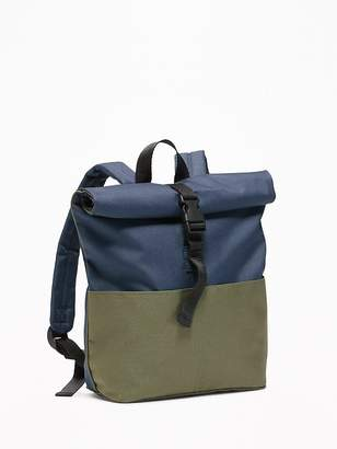 Old Navy Color-Block Canvas Backpack for Toddler Boys