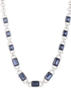Ralph Lauren Rhinestone Chain Necklace