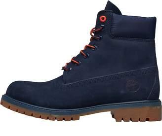 Timberland Mens 6 Inch Premium Boots Black Iris