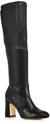 Stuart Weitzman Women's Milla Stretch Block High-Heel Boots