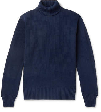 Blue Blue Japan Knitted Rollneck Sweater