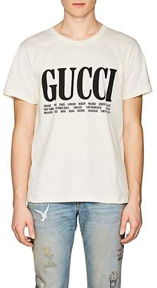 Gucci Men's Logo Cotton Jersey T-Shirt