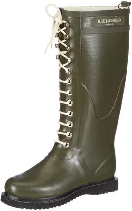 Ilse Jacobsen Womens Rub1 Rubber Boots 38 EU