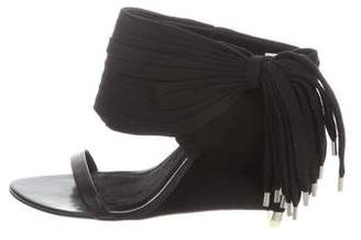 Alexander Wang Multistrap Wedge Sandals