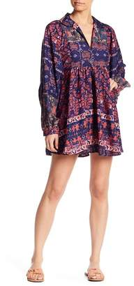 Raga Vivid Dreams Blouson Sleeve Dress