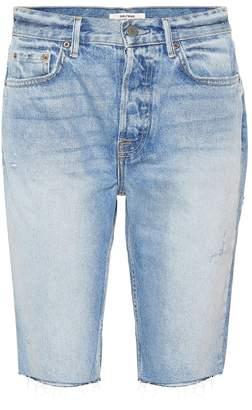 GRLFRND Beverley high-rise denim shorts