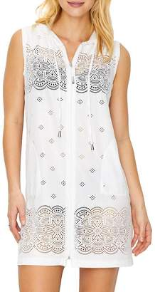 Dotti Free Spirit Hooded Cover-Up, M