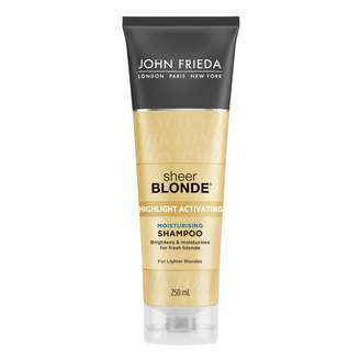 John Frieda Sheer Blonde Moisturising Shampoo for Lighter Blondes 250 mL