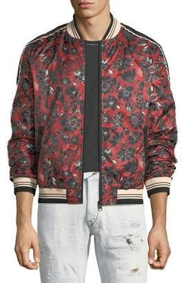 Just Cavalli Bandana-Print Bomber Jacket