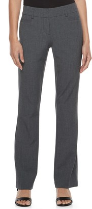 Candies Juniors' Candie's Audrey Mid-Rise Slimming Bootcut Pants