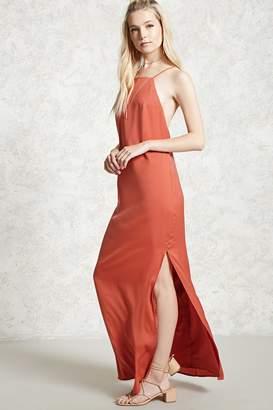 Forever 21 Contemporary Slit Maxi Dress