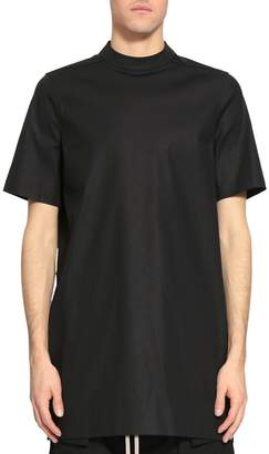 Rick Owens Black Cotton Moody Tunic